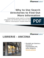 Why to Use Search Directories to Find Out More Information
