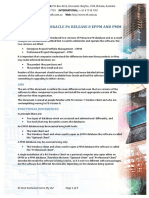 130502 Comparison of Oracle P6 Release 8 EPPM & PMM