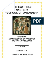 Ancient Egyptian School of On (Annu or God) _Download Version_Multimedia_2004 Ed