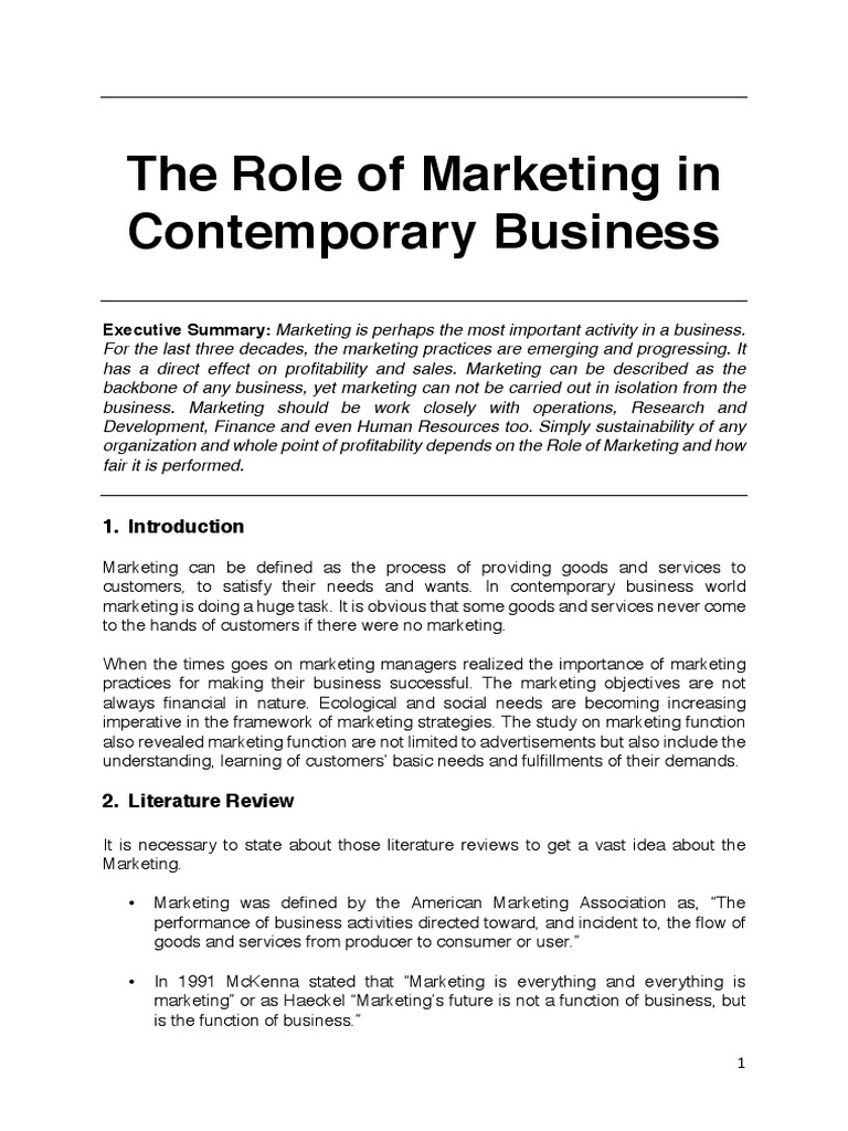 The role of marketing in contemporary business profit accounting the role of marketing in contemporary business profit accounting marketing malvernweather Images