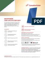 Canadian Solar Datasheet MaxPower CS6X P v5.5en