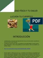 WEBQUEST LA ACTIVIDAD FÍSICA Y TU SALUD