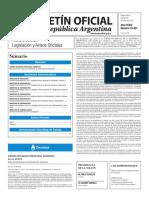 Boletín Oficial de la República Argentina, Número 33.407. 28 de junio de 2016