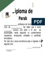 Diploma Menina