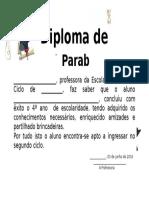 Diploma Menino
