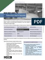 MOC Brochure Marine Fabrication