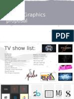 digital graphics proposal