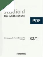 Studio d B2 Sprach- Und Pruefungstraining Losungen Teilband 1