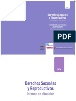 Derechos Sexuales y Reproductivos Informe de situación