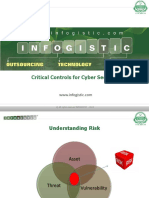 Critical Controls for Cyber Security