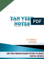 Tanveer Notes Revised 1st ED (Uploaded by Hanan)