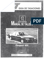 Peugeot - Manual de Taller - Peugeot 405