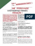 Tract Collectif Citoyen Châteaubriant Rennes En Train