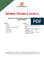 NT 40 CORPO DE BOMBEIROS GOIÁS