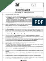 Ibge0109 Prova Rec