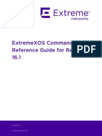 Extreme Xos command reference