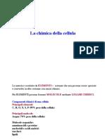 Chimica Della Cellula