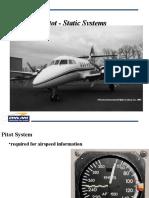 Pitot Static JetStream 31
