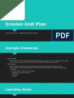 erosion unit plan