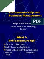 Entrepreneurship and Business Management