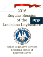 2016 Louisiana Regular Legislative Session Wrap Up