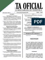 Gaceta Oficial N° 40.932 - Notilogía