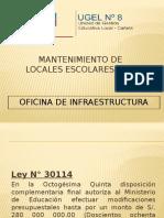 Capacitacion Mantenimiento de locales escolares 2014.pptx