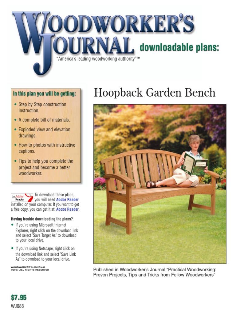 Superb Wj088 Garden Bench Logging Woodworking Dailytribune Chair Design For Home Dailytribuneorg