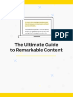 Ultimate Guide to Remarkable Content