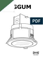 Haggum Recessed Spotlight AA 1399460 1 Pub