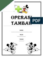 1. OPERASI TAMBAH