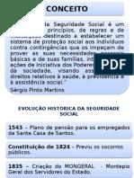 1- Conceito e Evolucao Historica Da Seguridade Social