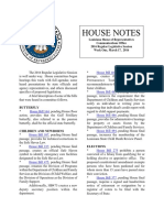 2016 House Notes Regular Session Week 1