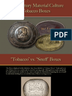 Tobacco & Smoking - Tobacco Boxes
