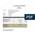 Invoice Tgl 21
