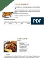 Comidas tipicas del Huila en san pedro
