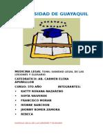 Traumatismos Medicina Legal