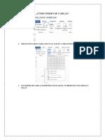 Cómo Insertar Tablas, formulas