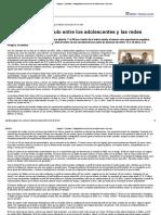 Página_12 __ Sociedad __ Radiografía Del Vínculo Entre Los Adolescentes y Las Redes