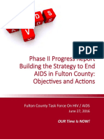 Strategy To End AIDS In Fulton County