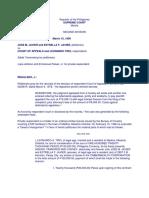 Jose M. Javier vs. Court of Appeals G.R. No. L 48194