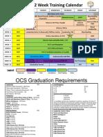 OCS Training Calendar