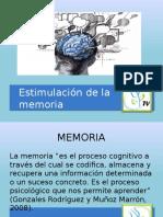 Estimulación de La Memoria X