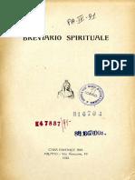 Martinetti P. - Breviario Spirituale 1922.