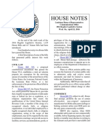 2016 House Notes Regular Session Week 6