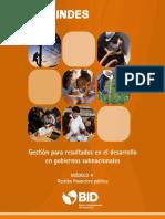 Modulo 4 - Gestion Financiera Publica