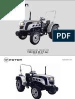 Tractor 250 (TE250-L161A37K) (1)