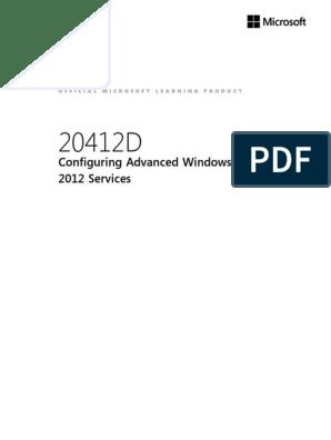 20412D Student | Active Directory | Hyper V