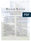 2016 House Notes 2nd Special Wrap Up