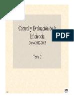 Control e incentivos de la gestión empresarial (II)